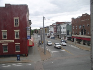 A little town in upstate New York