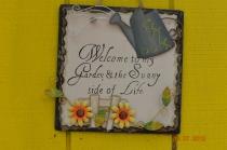 My Garden Sign