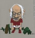Old weightlifter