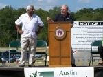 The Onion Creek Field Dedication Ceremony