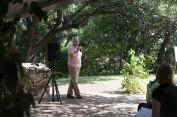 Margret Russell, Zilker Gardens Botanical Manager.